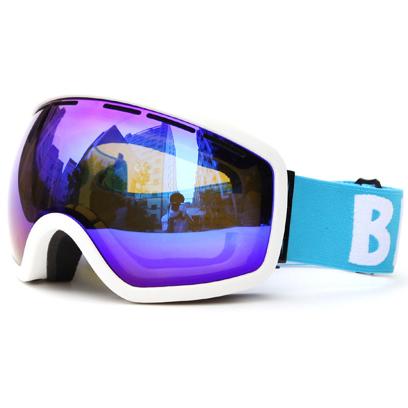 Wind And Dust Anti Snow Ski Goggles With Thermoplastic Polyurethane Frame