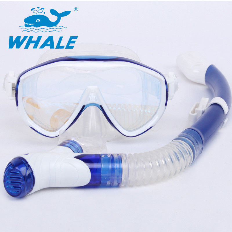 Silicone Mouthpieces Dry Snorkel Set For Wave Professional Free Breath Diving