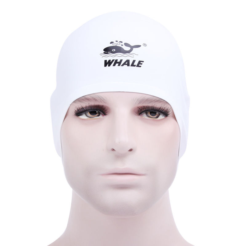 Durable Swimming Pool Head Cap For Long Hair And Short Hair , Protects Skin