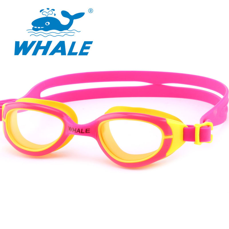 Professional Silicone Swimming Goggles Scratch Resistant , No Leaking