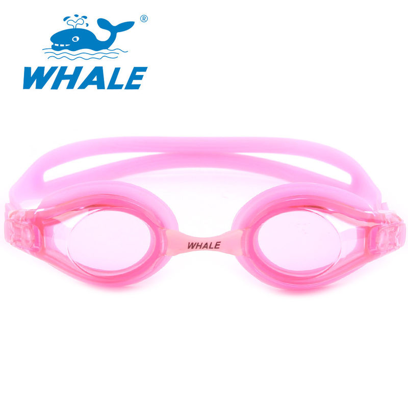 Wide Angle Lens UV Protection Swimming Goggles , Childrens Swimming Goggles