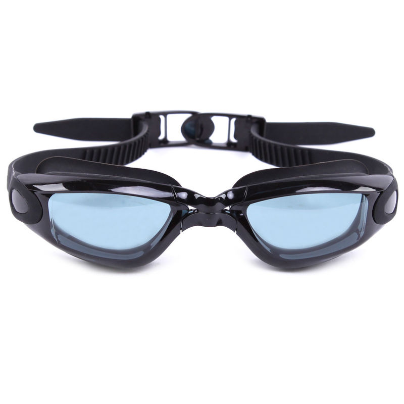 PC Lens Anti Fog No Leak Swim Goggles With Fast Strap Adjust System
