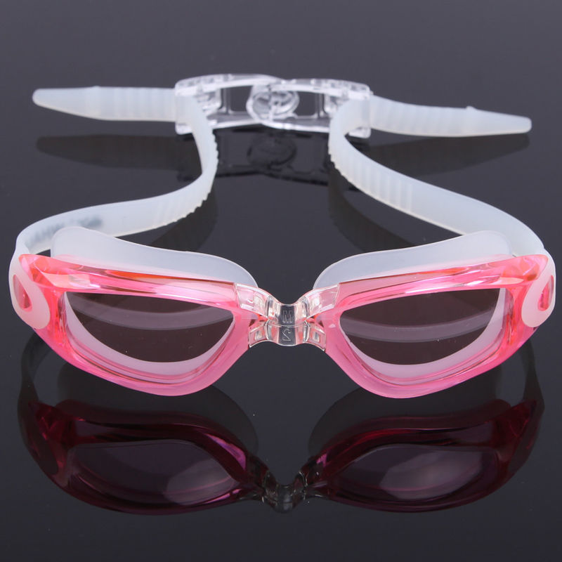 Fast Release Belt Anti Fog Swim Goggles Anti Ultraviolet With 3D Ergonomic Design