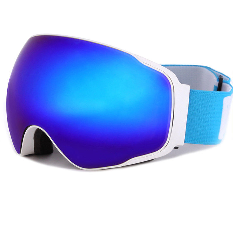 Men Women Ski Snowboard Goggles Anti fog UV Protection Spherical Dual Lens Design