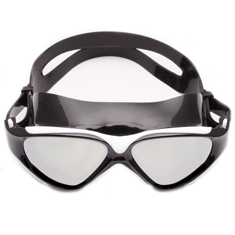 Clear high end Silicone Swimming Goggles with Anti Fog Lenses , CE certificate