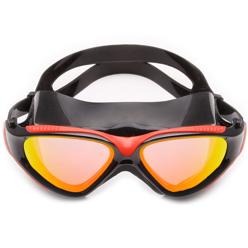 Clear Vision No Leaking Anti Fog Goggles , Comfortable Swimming Goggles UV Protection