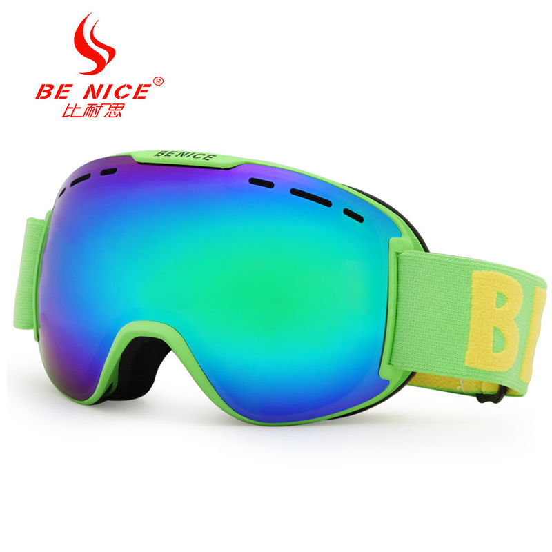 UV Protect Anti Fog Professional Snow Ski Goggles with FDA Certificate