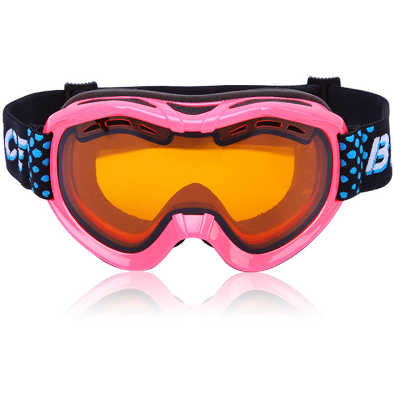 Winter Snow Snowboard Goggles with Interchangeable Spherical Dual Lens