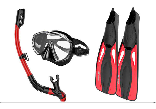 Wide - Field Diving Snorkel Set Innovative Water - Air Separated Anti Fogging